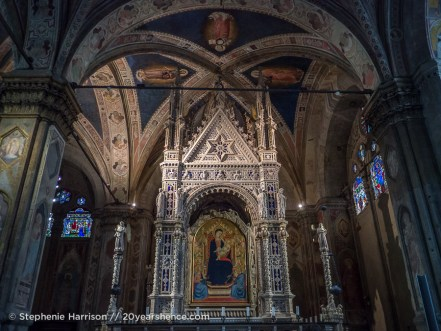 Inside a church, Florence