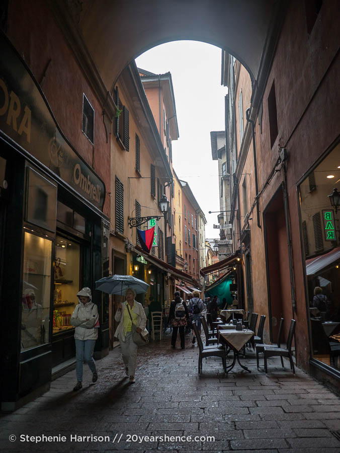 Bologna's Market District (Quadrilatero)