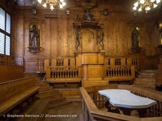 The world's oldest medical lecture hall