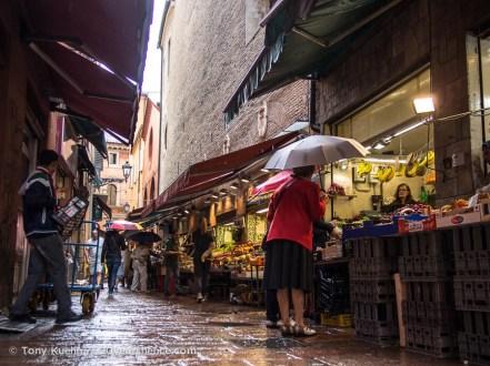 Bologna's Market District (Quadrilatero)