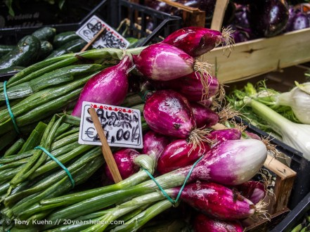 Fresh Produce in Bologna's Quadrilatero