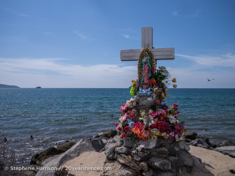 Shrine on Guayabitos Beach