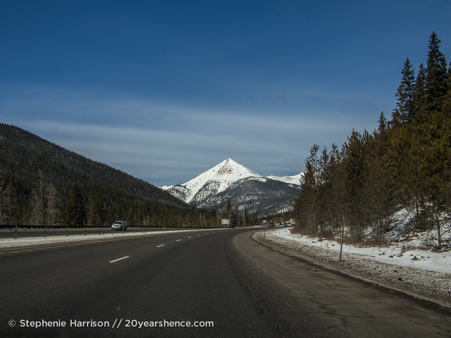 Pointy Colorado mountain