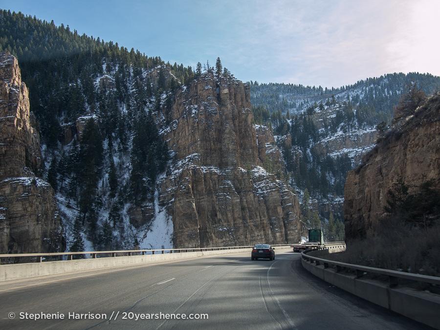 Are we in Utah yet? Nope! Still Colorado!