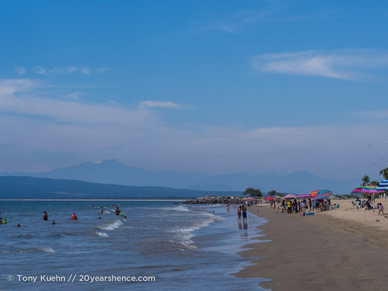 Guayabitos beach