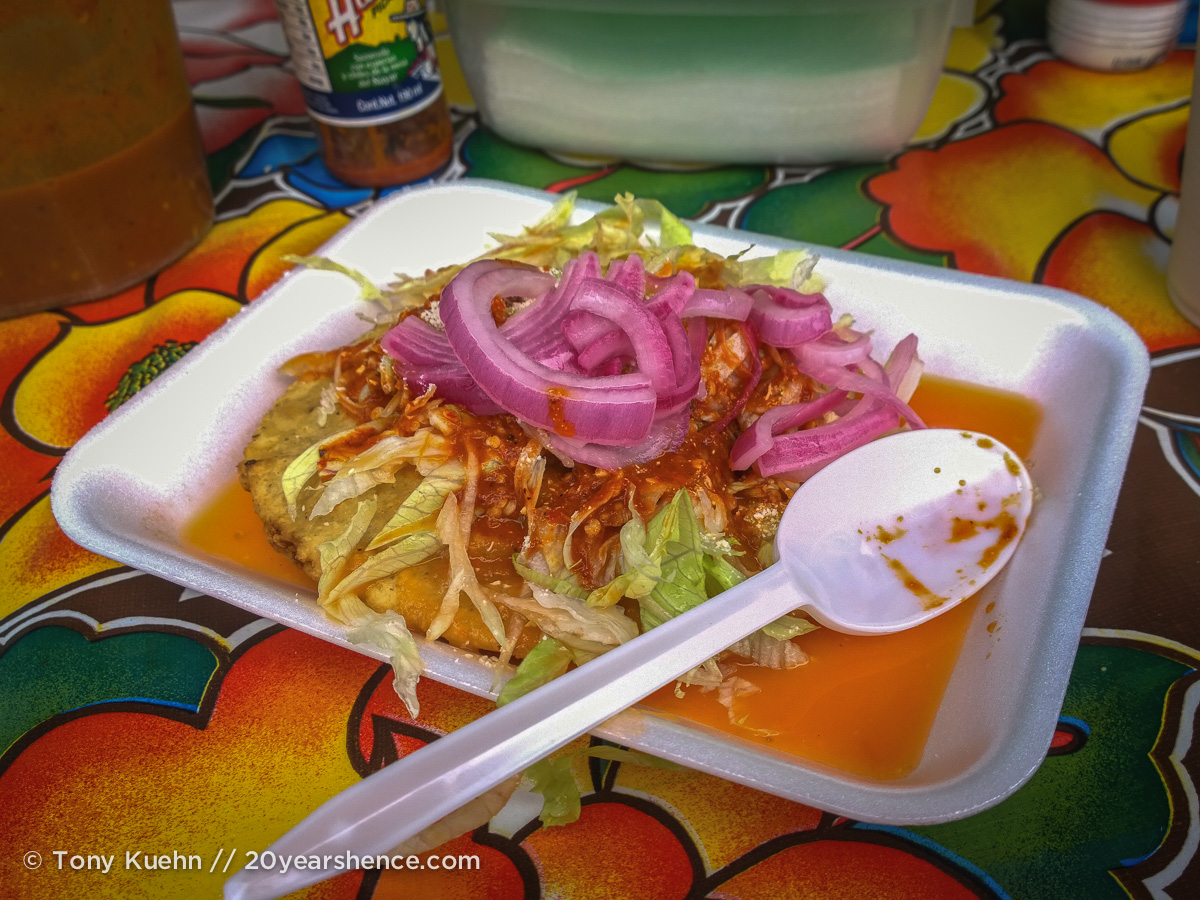 Empanadas, La Peñita, Mexico