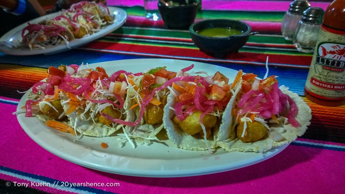 Fish tacos, Hinde y Jaime