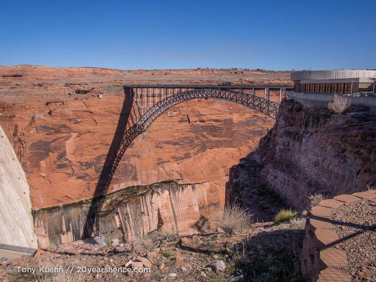 Bridge over Glen Canyon, Page, Arizona