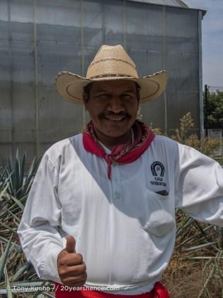Jimador, Casa Herradura, Amatitán, Mexico
