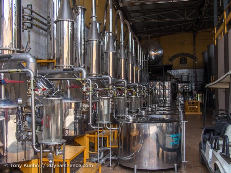 The distillery proper, Casa Herradura