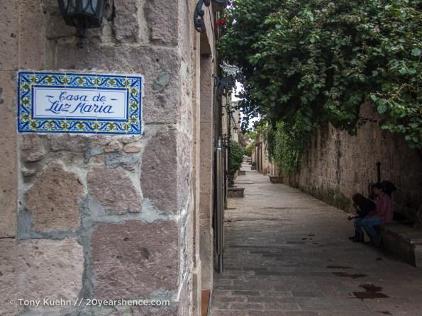 Morelia's historic downtown