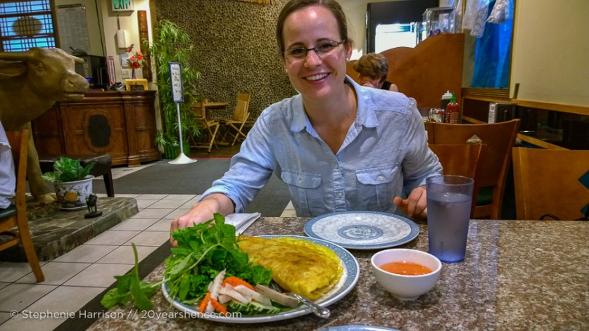 Mary with Banh Xeo