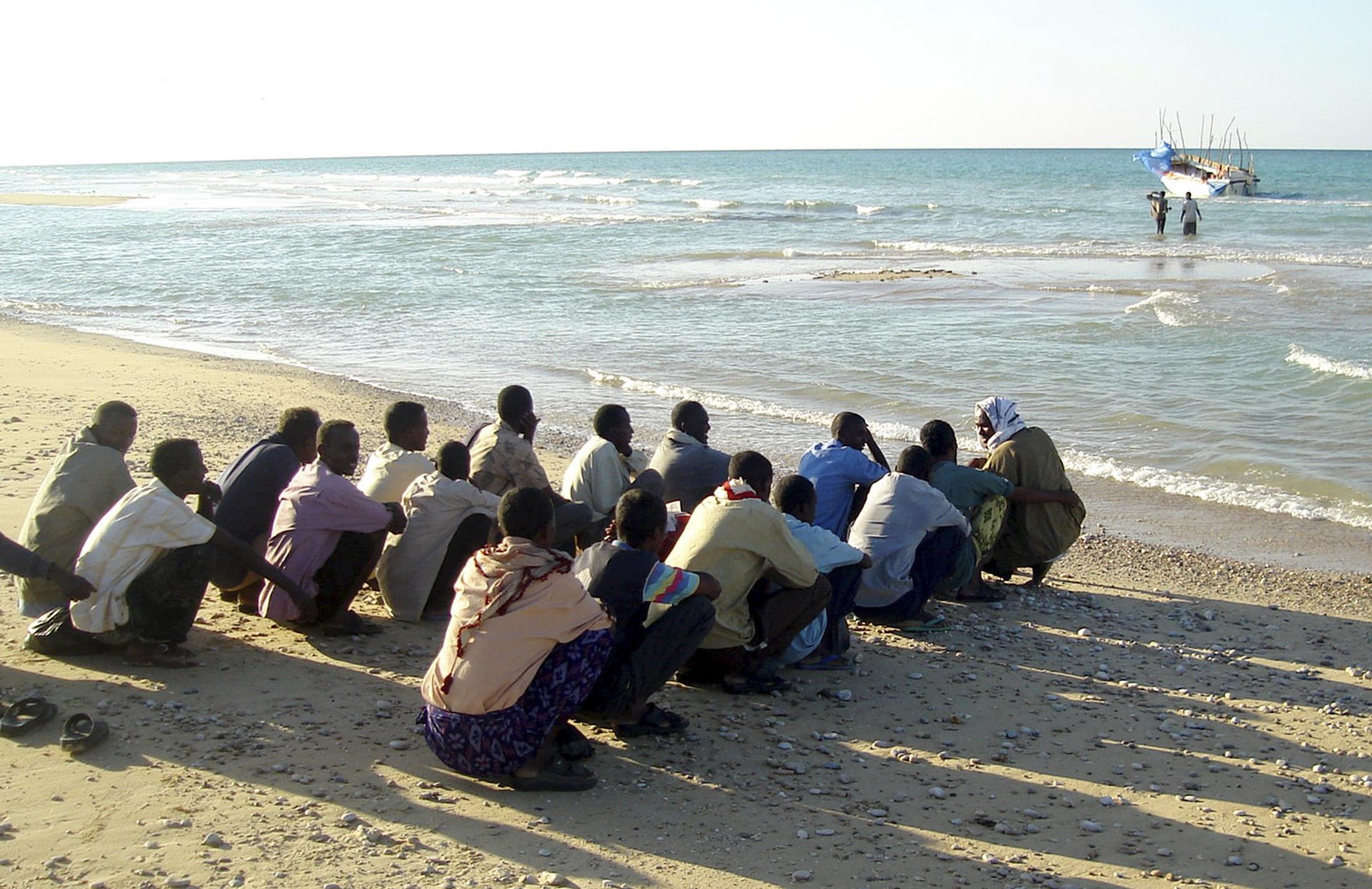 الهجرة غير الشرعية في ليبيا
