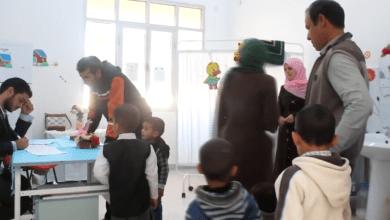 حملة لتطعيم أطفال بني وليد