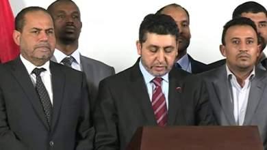 رئيس وزراء حكومة الإنقاذ خليفة الغويل.