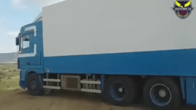 إسناد أمني- جالو يضبط شاحنات تُهرّب الغذاء لتونس