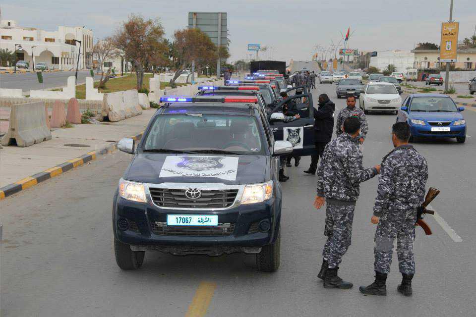 الأمن المركزي طرابلس