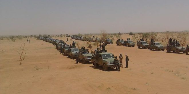 الحدود الليبية السودانية