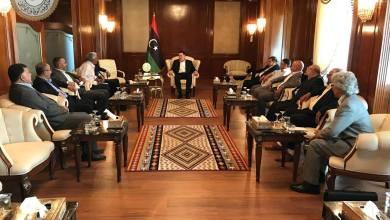 المجلس الرئاسي لحكومة الوفاق الوطني فائز السراج