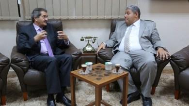 عميد بلدية بنغازي المستشار عبد الرحمن العبار