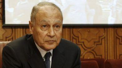 الأمين العام لجامعة الدول العربية أحمد أبو الغيط،