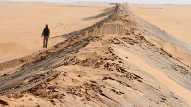 الحدود الليبية - ارشيفية