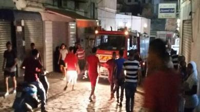 انهيار لسقف مقهى قرب تونس العاصمة