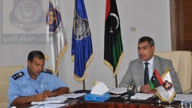 رئيس جهاز مكافحة الهجرة غير الشرعية في طرابلس العقيد محمد بشر