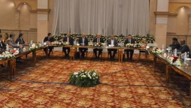 اللجنة المصرية المعنية بليبيا برئاسة الفريق محمود حجازي