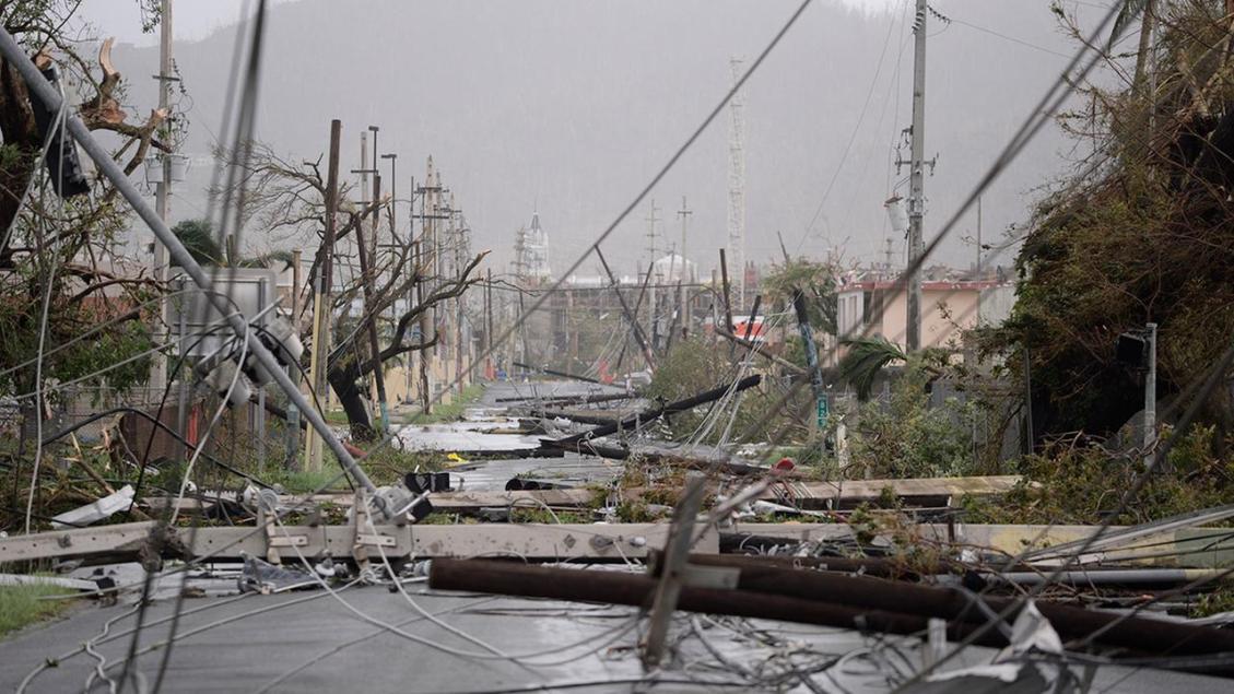 جزيرة بويرتوريكو مابعد الإعصار