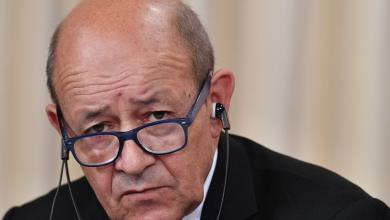 وزير الخارجية جان إيف لو دريان