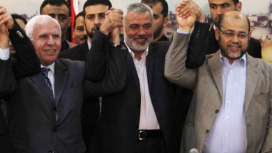 لقاء عقده الوفد مع رئيس جهاز المخابرات المصرية