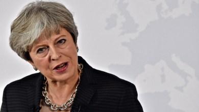 """رئيسة الوزراء البريطانية """"تيريزا ماي"""""""