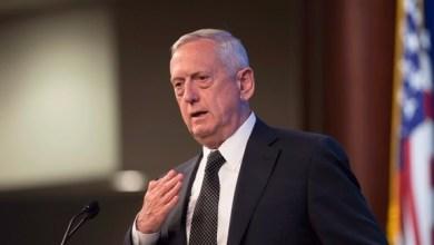 """وزير الدفاع الأميركي """"جيم ماتيس"""""""