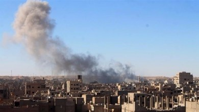"""ضربة جوية لـ""""دير الزور"""" السورية"""