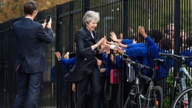 رئيسة الوزراء تيريزا ماي