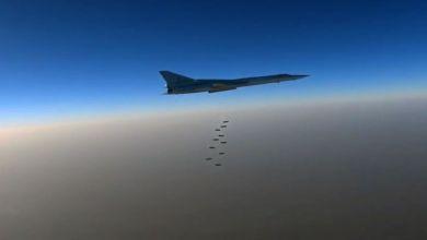 قاذفات روسية تضرب أهدافا لداعش في سوريا