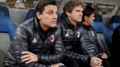 المدرب نادي الميلان الايطالي فينشنزو مونتيلا