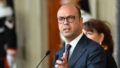 وزير الخارجية الإيطالي أنجيلينو ألفانو