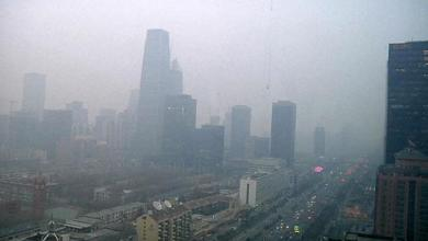تلوث الهواء في الصين