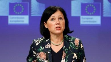 فيرا يوروفا مفوضة العدل الأوروبية