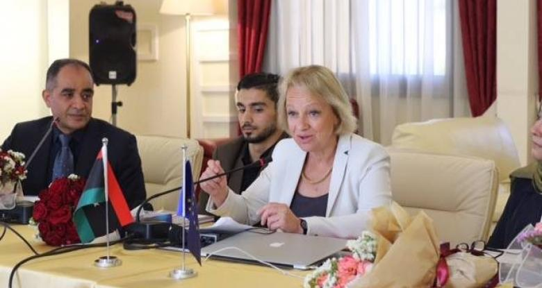 سفيرة الاتحاد الأوروبي لدى ليبيا، بيتينا موشايد