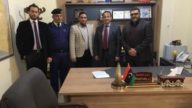 وزير الصحة بالحكومة المؤقتة الدكتور رضا العوكلي