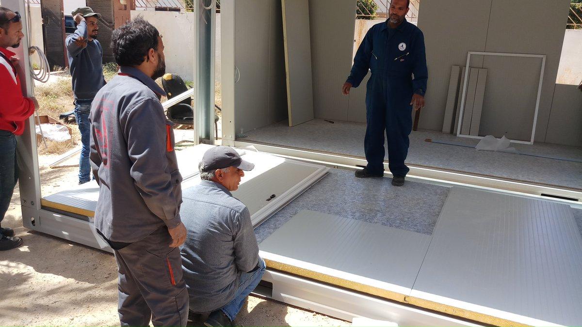مساعدات ألمانية لمدارس بنغازي