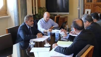 اجتماع في مصرف ليبيا المركزي