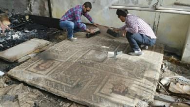 اندلع حريق في مخازن الآثار بمدينة برنيكي الأثرية في بنغازي