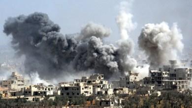 قصف بسوريا