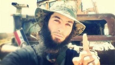 الداعشي البلجيكي طارق جدعون ويعرف باسم أبو حمزة البلجيكي