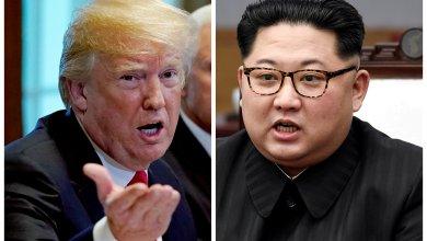 كيم جونج أون ودونالد ترامب