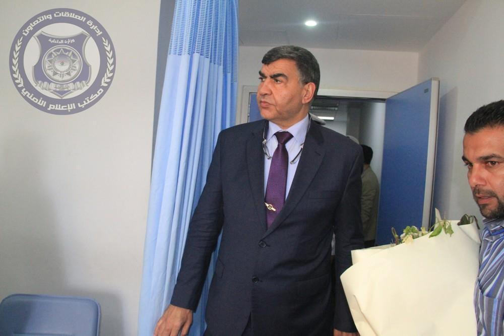 وزير الداخلية المفوض بحكومة الوفاق الوطني عبد السلام عاشور